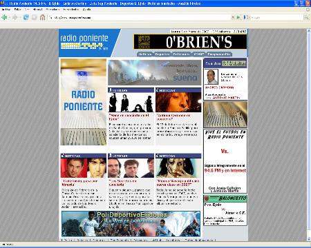 Radio Poniente  - Emisoras de Radio - Almería